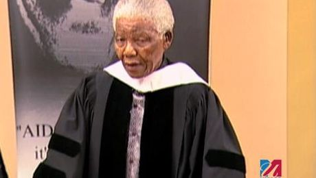 Nelson Mandela UMass Honorary Degree 2006