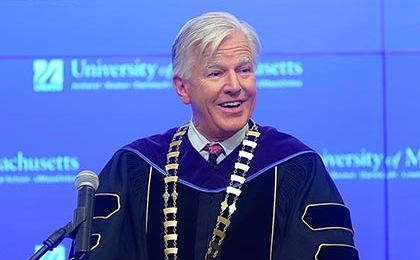 Inauguration speech by President Martin T. Meehan