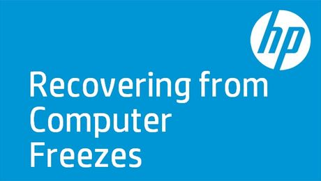 Recovering from Computer Freezes