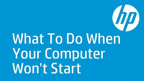 What To Do When Your Computer Won't Start