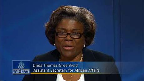 LiveAtState with Assistant Secretary for African Affairs Linda Thomas-Greenfield