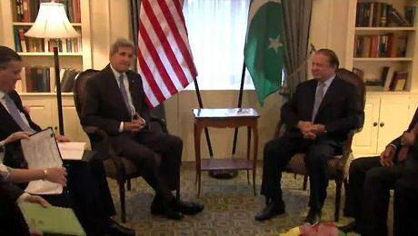 Secretary Kerry Meets Pakistan Prime Minister Sharif