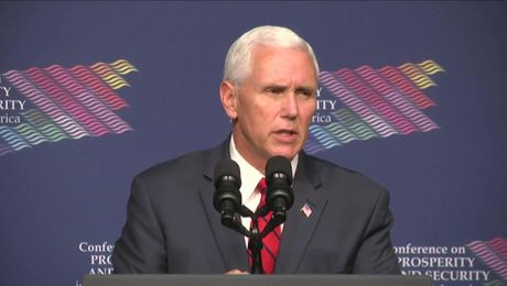 Secretary Tillerson Introduces Vice President Pence at Conference on Prosperity and Security