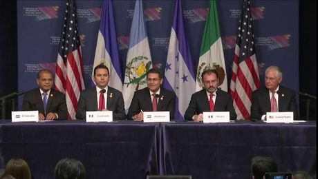 Press Availability at Conference on Prosperity and Security in Central America