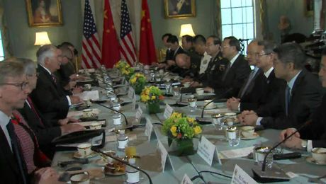 U.S.-China Diplomatic and Security Dialogue at the Dept. of State