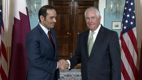 Secretary Tillerson Meets with Qatari Foreign Minister Al Thani