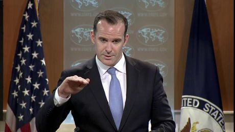 Special Presidential Envoy Brett McGurk Briefs on Global Coalition to Defeat ISIS Meetings