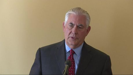 Secretary Tillerson Comments on Issues in Relationship with Russia