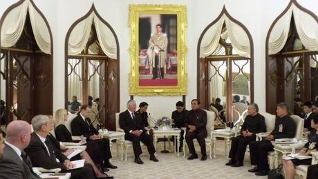 Secretary Tillerson Meets with Thai Prime Minister General Prayut Chan-o-cha