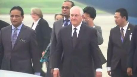Secretary Tillerson Arrives in Malaysia
