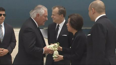 Secretary Tillerson Arrives in Bangkok, Thailand