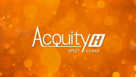 Waters ACQUITY UPLC H-Class Overview
