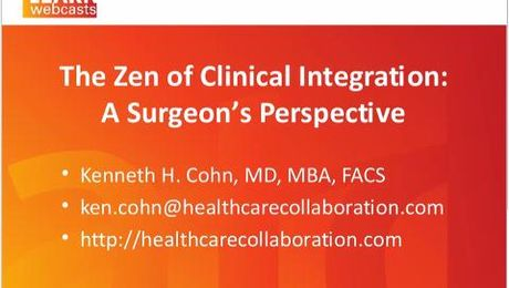 The Zen of Physician Engagement