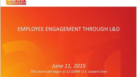 Employee Engagement Through L&D