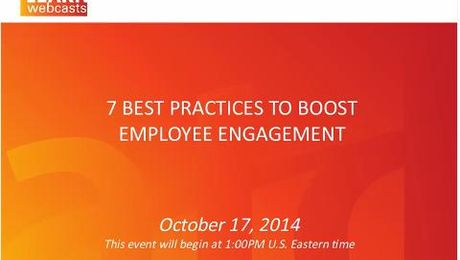 7 Best Practices to Boost Employee Engagement