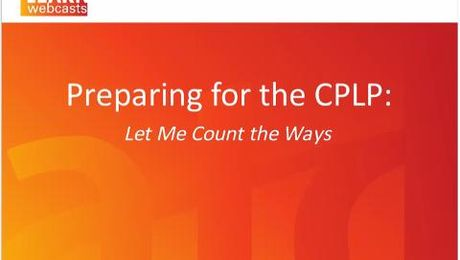 Preparing for the CPLP Certification Exam