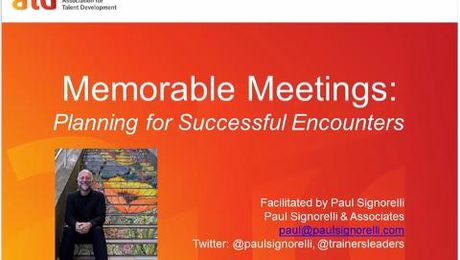 Memorable Meetings Planning for Successful Encounters