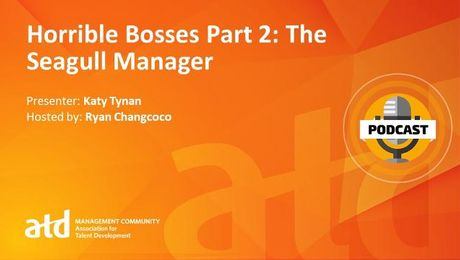 Horrible Bosses Part 2: The Seagull Manager