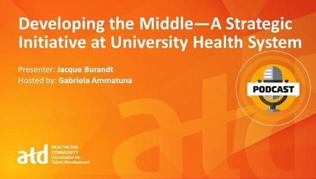 Developing the Middle—A Strategic Initiative at University Health System