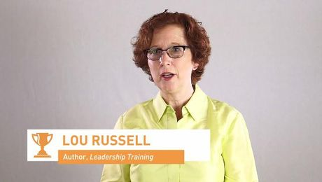 "Lou Russell on ""teaching"" leadership skills"