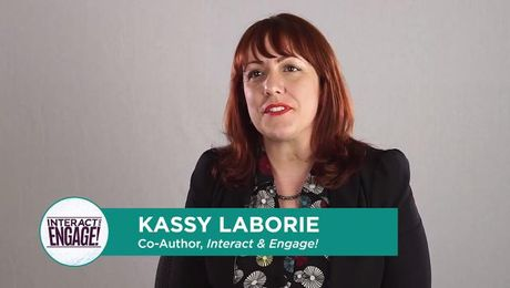 Kassy LaBorie: 3 Hallmarks of Engaging Virtual Training