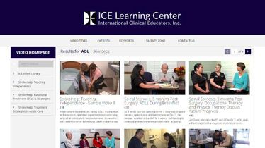 ICE Video Library Starting Guide
