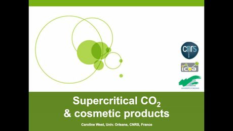 Supercritical CO2 to Support the Research and Development of Cosmetic Products