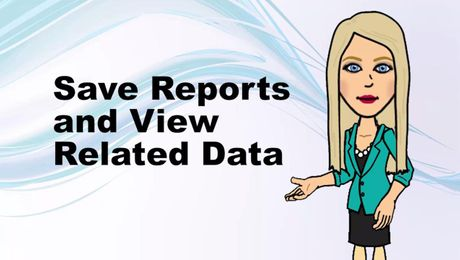 Save Reports and View Related Data in UNIFI