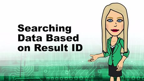 Searching Data Based on Result ID in Empower