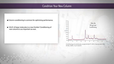 HILIC Columns Tips & Tricks: Condition Your New Column