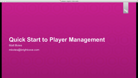 Get  Ready to Use the Player Management API