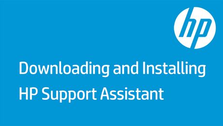Downloading and Installing HP Support Assistant