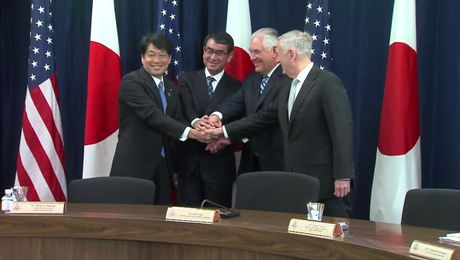 """U.S.-Japan Security Consultative Committee (""""2+2"""" Ministerial)"""