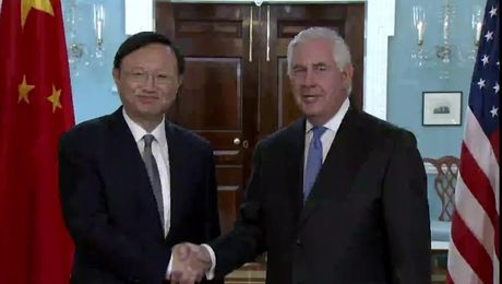 Secretary Tillerson Meets with Chinese State Councilor Yang Jiechi
