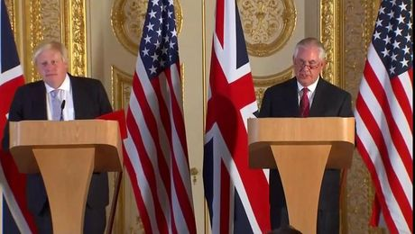 Press Availability With U.K. Foreign Secretary Boris Johnson