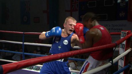 Forces Boxers Battle With Top Amateurs: Part One