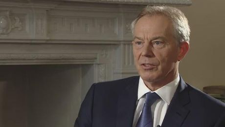 EXCLUSIVE: Tony Blair Talks Iraq