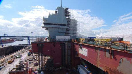 HMS Prince of Wales Will Be 'More Efficient'