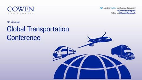 Cowen and Company 9th Annual Global Transportation Conference