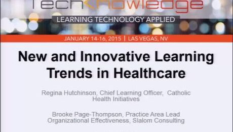 New and Innovative Learning Trends in Healthcare