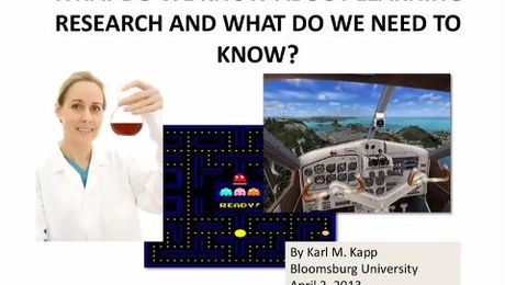 What Do We Know About Learning Research and What Do We Need to Know?
