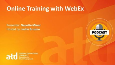 Online Training with WebEx