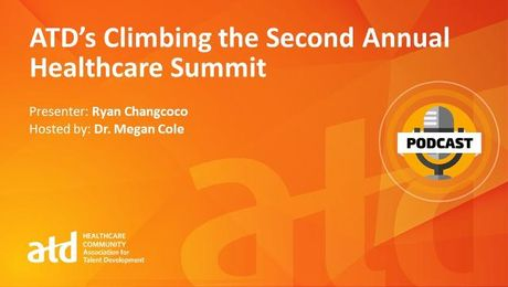 ATD's Climbing the Second Annual Healthcare Summit
