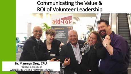 Communicating the Value and ROI of Volunteer Leadership
