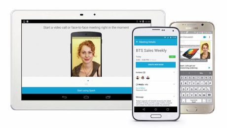 Navigate Cisco Spark on an Android Device