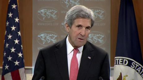 Secretary Kerry Holds A Press Availability