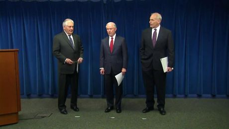 Secretary Kelly, Secretary Tillerson and Attorney General Sessions' Remarks on Visas and Travel