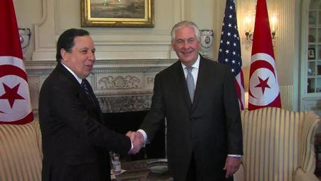 Secretary Tillerson meets with Tunisian Foreign Minister Jhinaoui