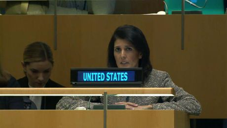 Amb. Haley Addresses the 61st Commission on the Status of Women