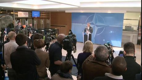 Remarks on Arrival to the North Atlantic Council Foreign Ministers Meeting